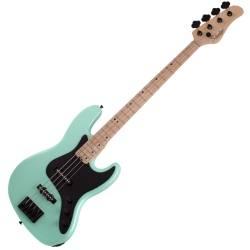 90f000aea9d Schecter 2910-SHC J-4 RH 4-String Electric Bass-Seafoam Green - Bass ...