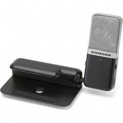 Samson GOMICB Portable USB Condenser Microphone in Black Casing Product Image