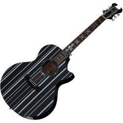 Schecter 3700-SHC Synyster Gates-AC GA SC-6 String Acoustic Guitar - Black Product Image