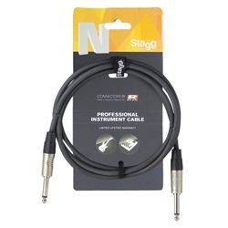 Stagg NGC1.5R N-Series 1.5 Metre Instrument Cable Product Image
