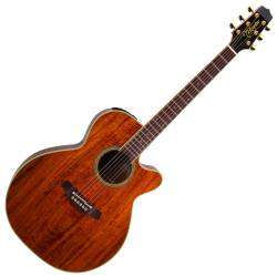 Takamine EF508KC Legacy Series 6 String RH NEX Koa Acoustic Electric Guitar  with Hard Case-Gloss Natural