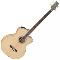 Takamine GB72CE-NAT G-Series Jumbo 4-String RH Acoustic-Electric Bass Guitar-Natural Product Image