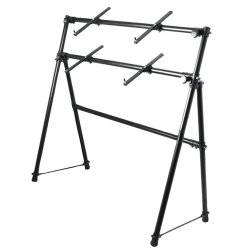 On Stage Stands KS7902 2-Tier A-Frame Keyboard Stand Product Image