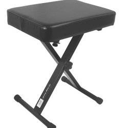 On Stage Stands KT7800 Three-Position X-Style Bench Product Image