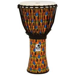 Toca SFDJ-12K Freestyle Rope Tuned 12-Inch Djembe - Kente Cloth Product Image
