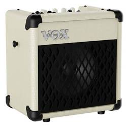 Vox MINI5-RM-IV Ivory 5W Battery Powered Busking Guitar Combo Amplifier with Rhythms Product Image