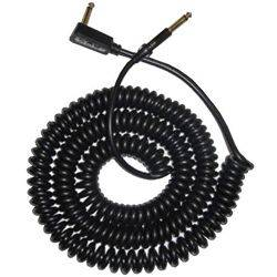 Vox VCC90-BK Black 9m Vintage Coiled Guitar Cable Product Image