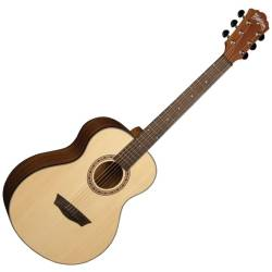 Washburn AGM5K-A Apprentice Series G-Mini 5 Style RH 6-String Acoustic Guitar with Gigbag Product Image