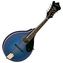 Washburn M1SDLTBL-A Americana Series A-Style Mandolin-Transparent Blue Product Image