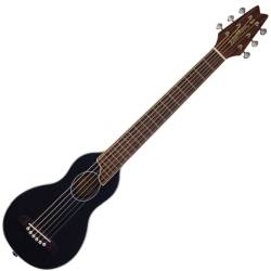 Washburn RO10SBK-A Rover 6 String RH Acoustic Guitar with Gigbag-Black Product Image
