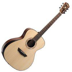Washburn WCG10SNS Comfort Series 6 String RH Acoustic Guitar (discontinued clearance) Product Image