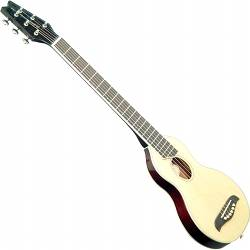 Washburn RO10W Rover 6 String Acoustic Mini Travel Guitar (discontinued clearance) Product Image