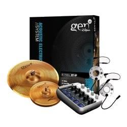 Zildjian G16BS3DS Gen16 A/E Buffed Bronze 13/18 DS Cymbal Set Product Image