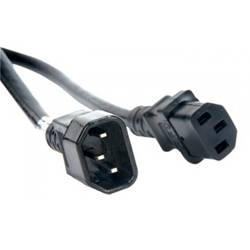 American DJ ECCOM-3 3 foot IEC extension cord with male-to-female connectors Product Image