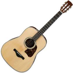 Ibanez AVD1-NT-d 6 String Artwood Vintage Acoustic Guitar with Dreadnought Body and Natural High Gloss Finish (discontinued clearance)  (Prior Year Model) Product Image