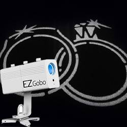 Chauvet DJ EZ Gobo LED Battery Powered Gobo Projector Product Image
