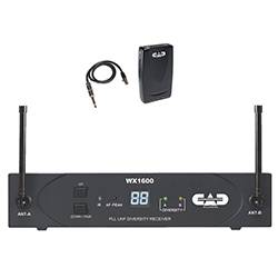 CAD Audio WX1600G UHF 100 Channel Frequency Agile Handheld Wireless System Product Image