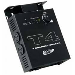 American DJ T4 Sound-To-Light Chase Controller Product Image
