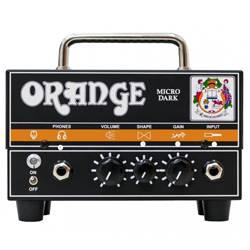Orange MD MICRO DARK Valve/Solid State 20W Hybrid Guitar Amplifier Head md-micro-dark Product Image