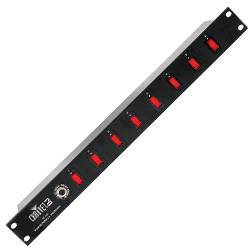 Chauvet DJ PC-08 8 Switch Power Panel NOT CSA APPROVED (discontinued clearance used) Product Image