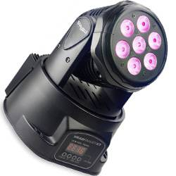 Stagg SLI MHW HBXT-1 Head Banger 7x10W RGBW Moving Head Light Fixture (NOT CSA APPROVED) Product Image