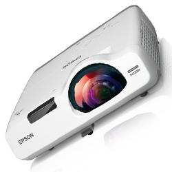 Epson V11H672020 PowerLite 525W WXGA 3LCD 2800 Lumens Wide Screen Short Throw Projector Product Image