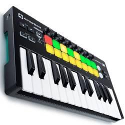 Novation Launchkey Mini MK2 Portable and Compact Mini MIDI Keyboard Controller Product Image