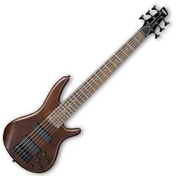 Ibanez GSR256B-WNF-d Gio Series 6 String Bass Guitar in Walnut Flat Finish (discontinued clearance)  (Prior Year Model) Product Image