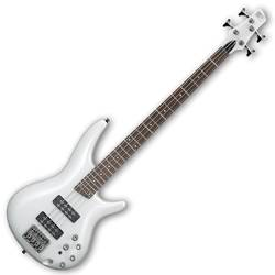 Ibanez SR300E-PW-d SR Series 4 String Bass Guitar in Pearl White (discontinued clearance)  (Prior Year Model) Product Image