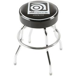 Ampeg Studio Stool 24 Inch Metal Stool with Ampeg Logo on Cushioned Seat Product Image