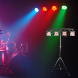 Chauvet DJ 4BAR USB Wash Light Lighting Package with D-Fi USB Compatible Wireless DMX Control Product Image