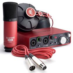 Focusrite Scarlett Studio Pack MK2 Next Generation Digital Audio Package with Scarlett 2i2 and Accessories Product Image