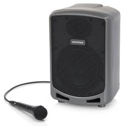 Samson XP360B Expedition Express Rechargeable Battery Operated Portable PA  with Bluetooth and Microphone