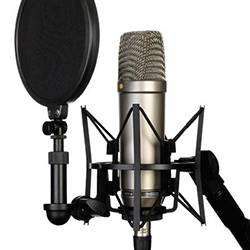 Rode NT1-A Cardioid Condenser Microphone Product Image