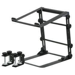 Odyssey LSTANDM Mobile Folding Laptop/Gear Stand with Table/Case Clamps in Black Product Image