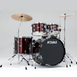 Tama SG52KH6C-WR STAGESTAR Complete Drum Kit with 16x22 Inch Bass Drum and Stagestar Cymbal Set in Wine Red Product Image