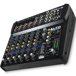 Alto ZMX122FX 8 Channel Compact Mixer with Effects Product Image