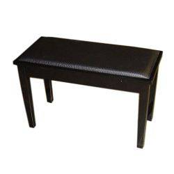 Profile PPB102c Piano Bench with Compartment - Ebony Black (discontinued clearance) Product Image
