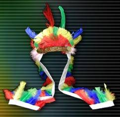 Magic Light Deluxe Indian Headdress (Pack of 12)  Product Image