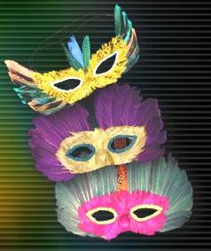 Magic Light Feather Masks (Pack of 12) Product Image