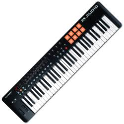 M-Audio Oxygen61 IV 61-Key USB MIDI Controller with Ignite Software