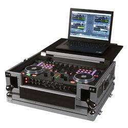 American DJ VMS4-FLIP-CASE Road Case for VMS4 with Flip Laptop Shelf Product Image