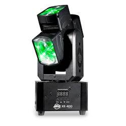 American DJ XS-400 Single Head Moving Fixture with 4x 10W 4-in-1 RGBW (discontinued clearance) Product Image