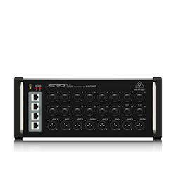 Behringer SD16 16-channel Digital Snake with 16 Remote-controllable Midas-designed Mic Pres and AES50 Network Port sd-16 Product Image