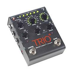 Digitech TRIO PLUS DOD Guitar Effects Pedal - a complete band in a pedal - just add guitar. trio-plus-+-digitech Product Image